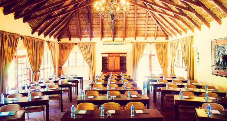 Premier Resort Mpongo Private Game Reserve Conference facilities