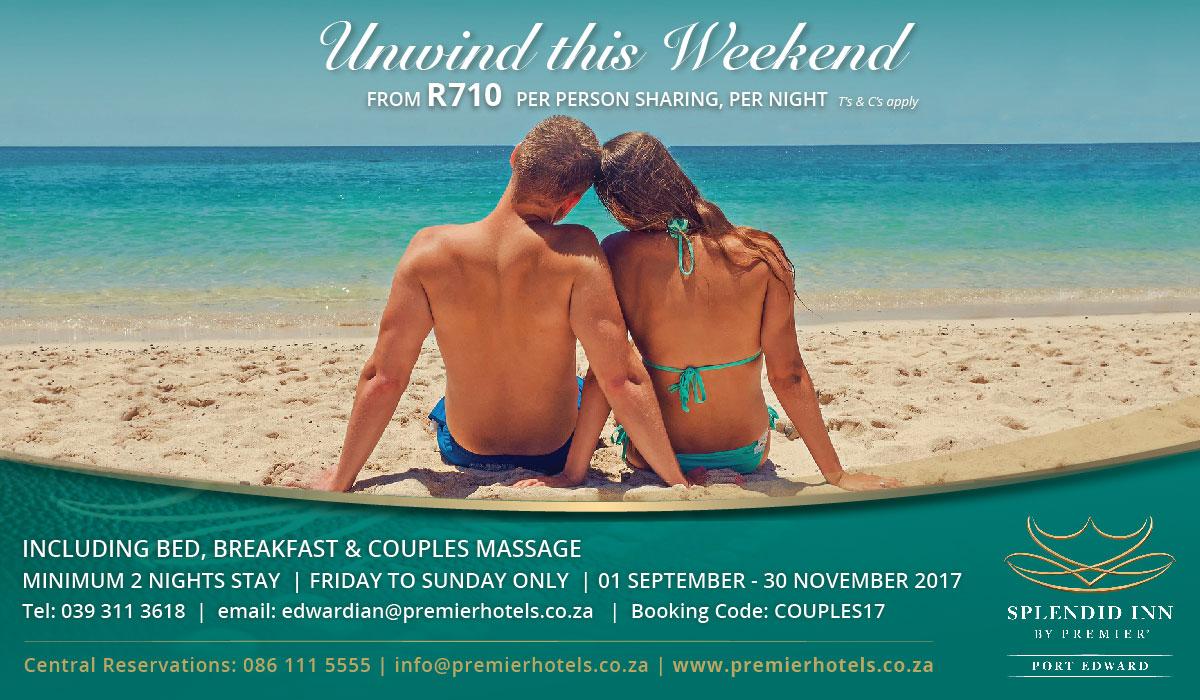 Splendid Inn Port Edward Weekend Special