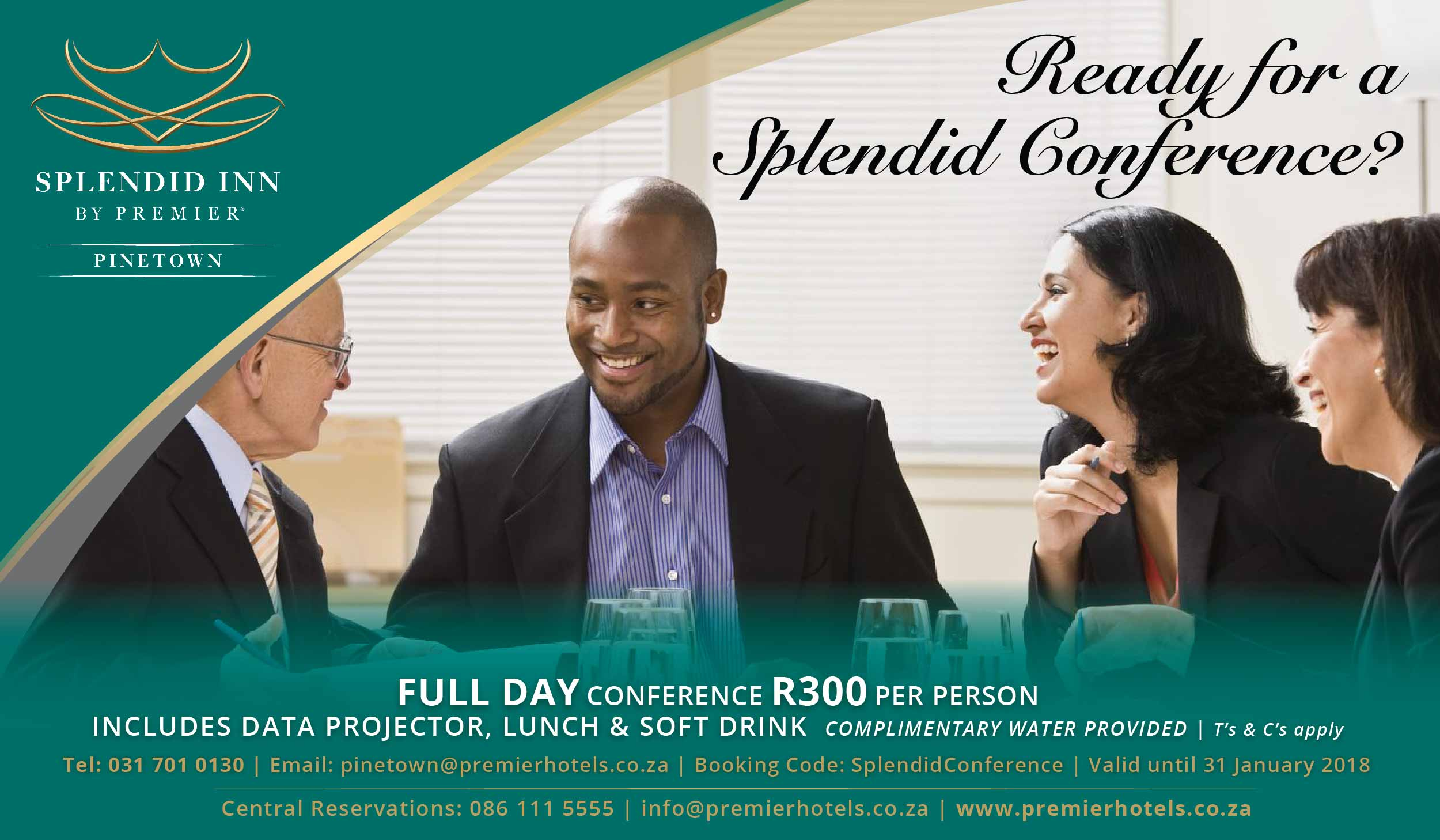Splendid Inn Pinetown Conference Special
