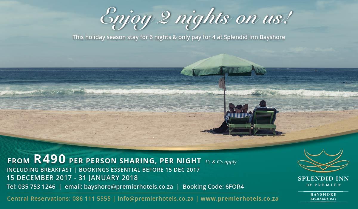 Splendid Inn Bayshore Special