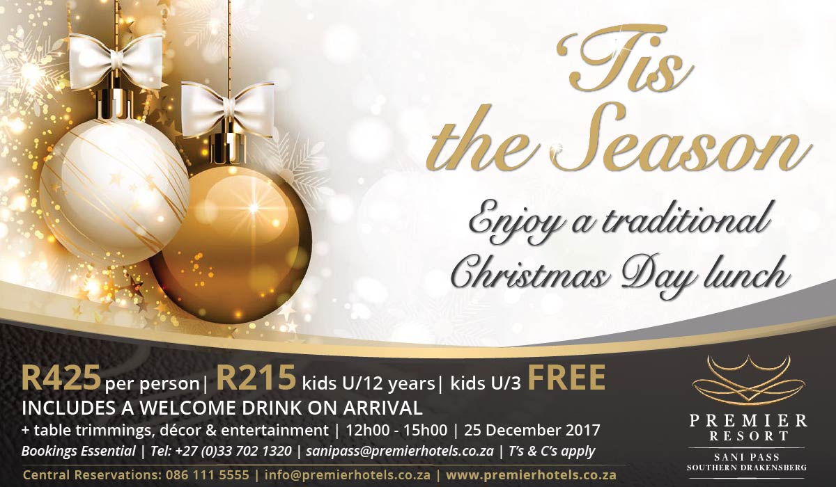 Premier Resort Sani Pass Christmas Lunch