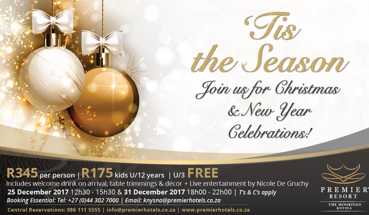 Premier Resort The Moorings - Knysna Christmas Lunch Special