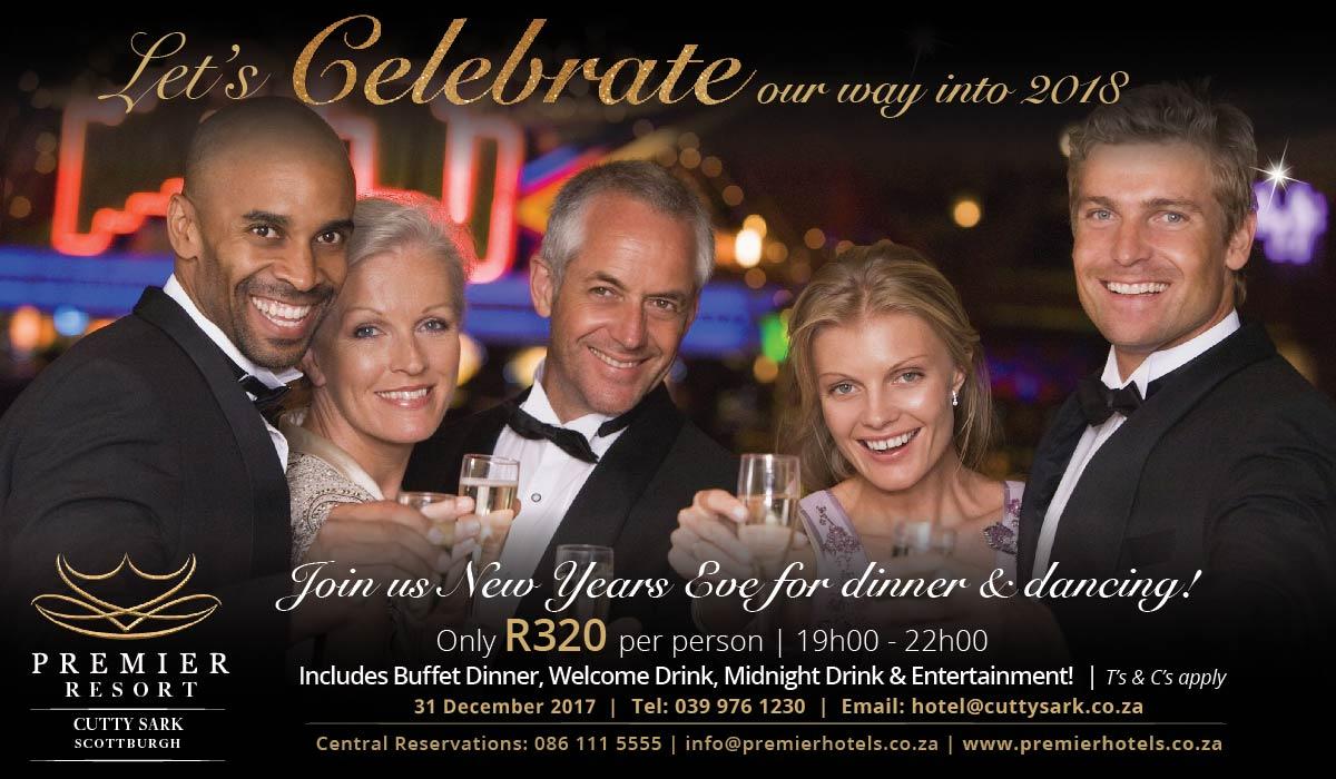 Premier Resort Cutty Sark New Years Eve Celebration