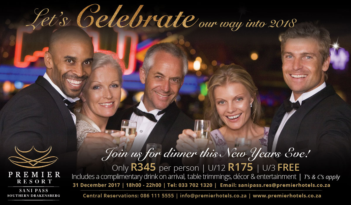 Premier Resort Sani Pass New Years Eve Dinner
