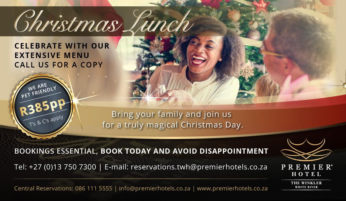 Premier Hotel The Winkler Christmas Lunch