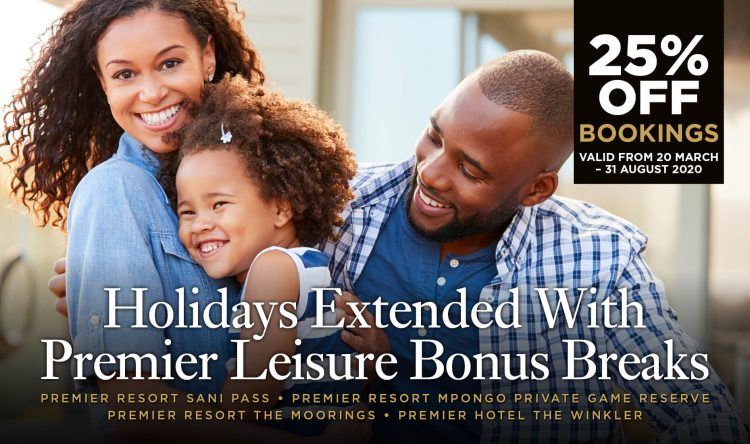 Premier Leisure BONUS BREAKS offer