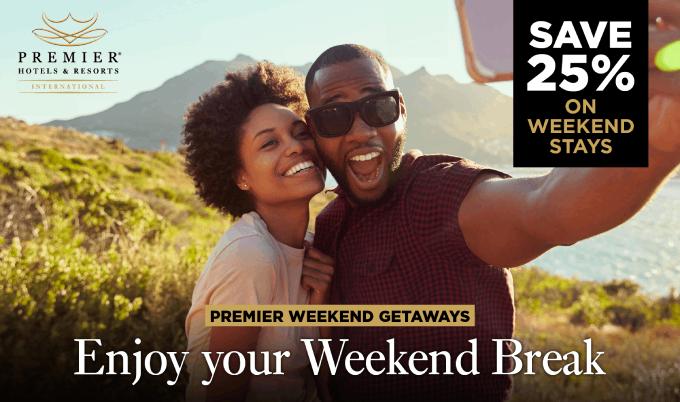 premier weekend getaway
