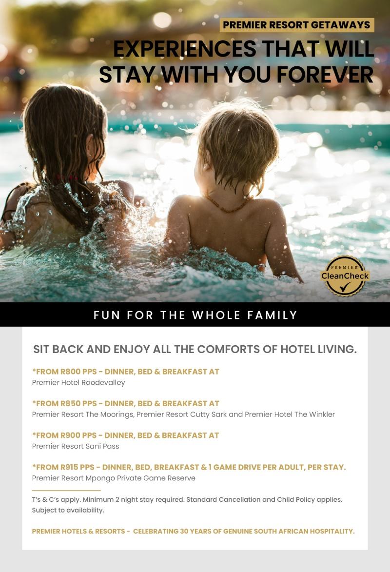 Premier Resort Getaways - Specials